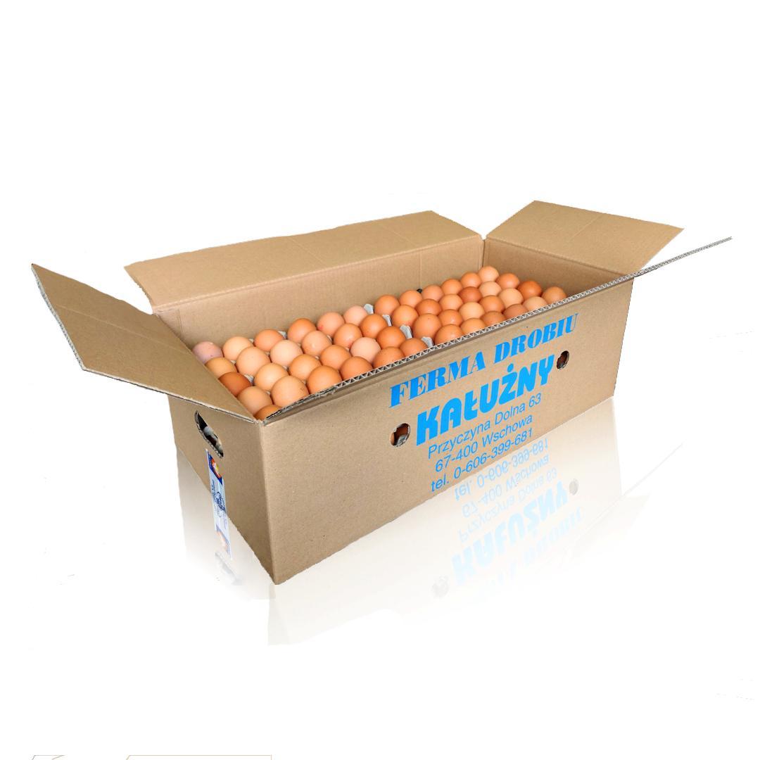 Kałużny - Jaja karton 1/2 - 6x30szt.