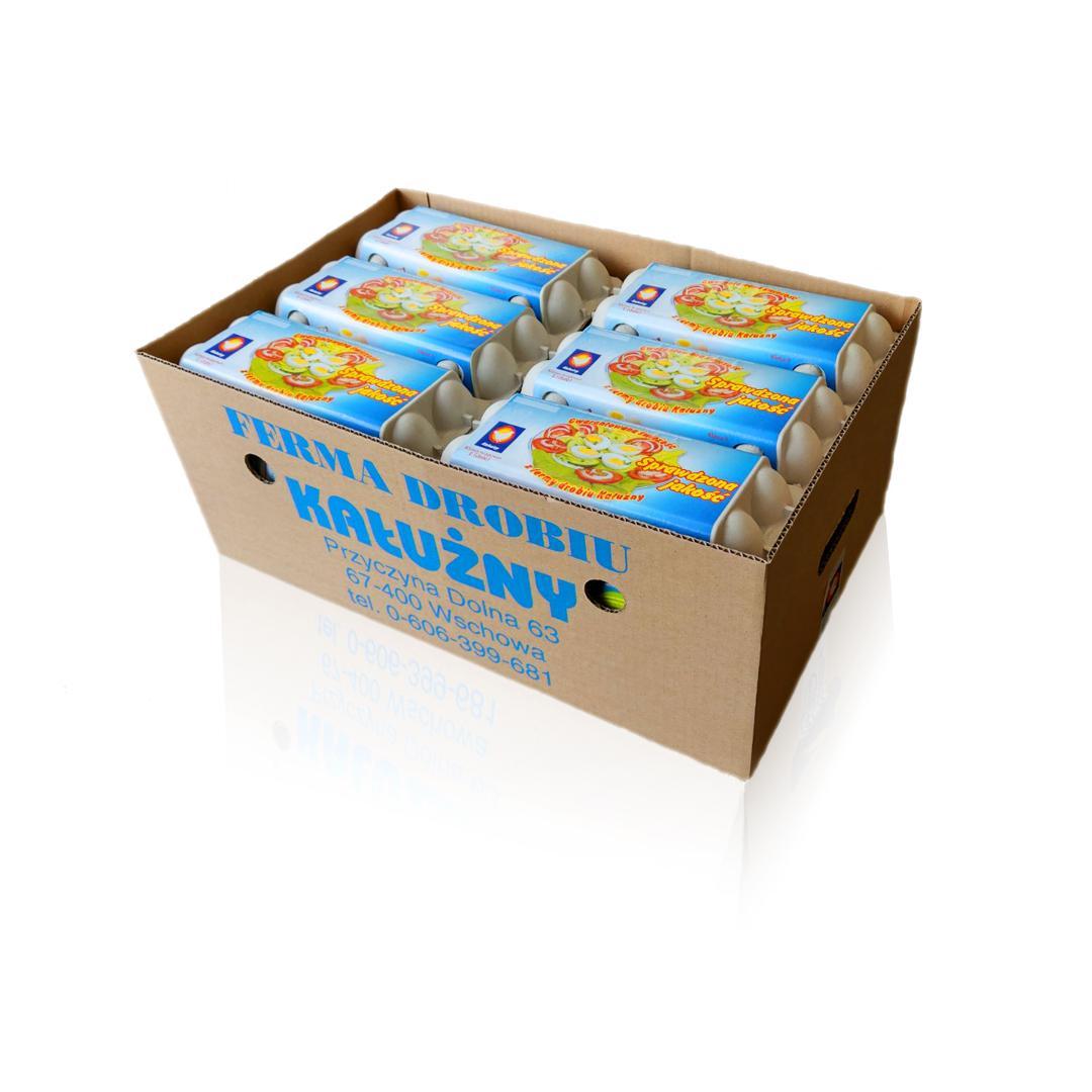 Kałużny - Jaja karton - 18x10szt.